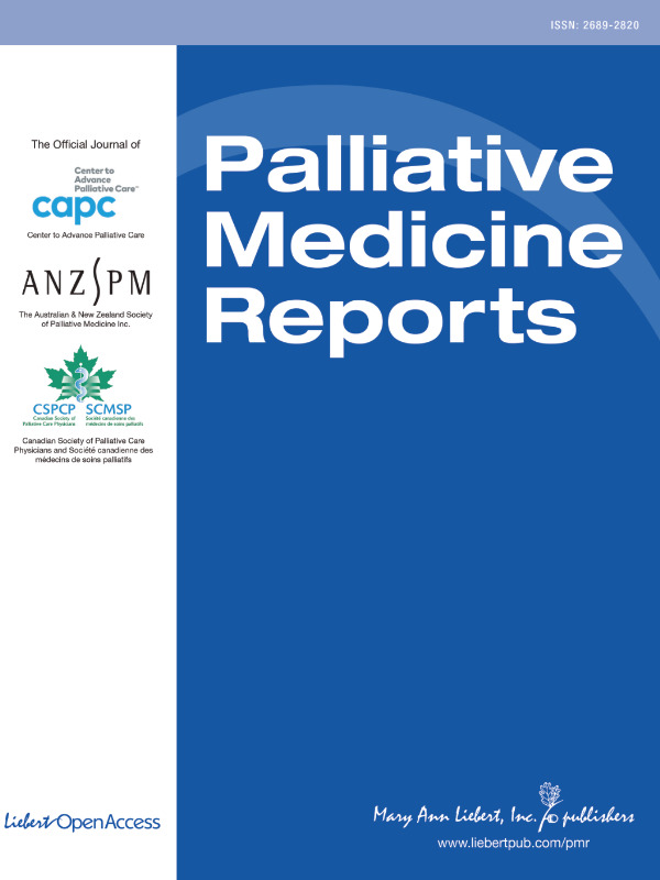 Effects of a Population Health Community-Based Palliative Care Program on Cost and Utilization